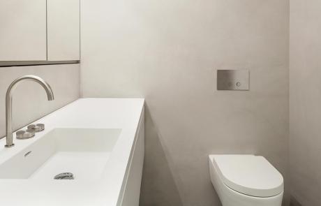 Łazienki warmstone home desing wykończenia beton dekroacyjny